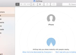 Airdrop Not Showing Up Mac