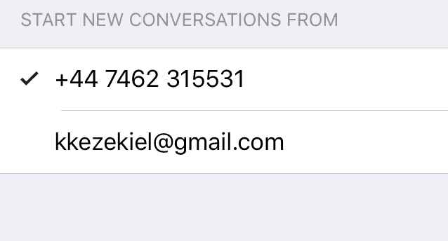 iMessage's Sending From Email, Not Number  How to Stop it - Techzillo