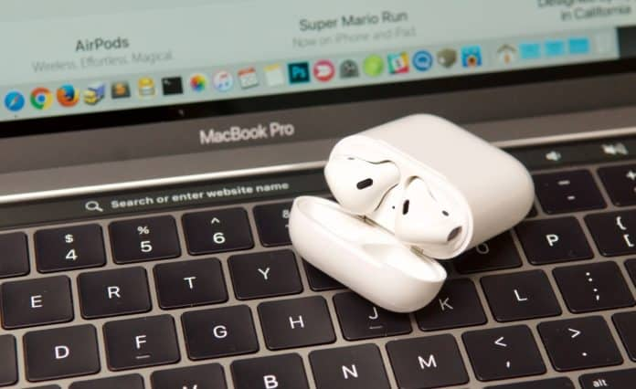 airpods won't connect to mac