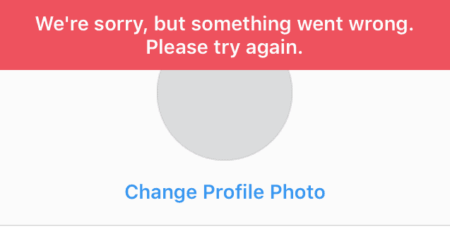 How to Fix 'Sorry, something went wrong ' on Instagram