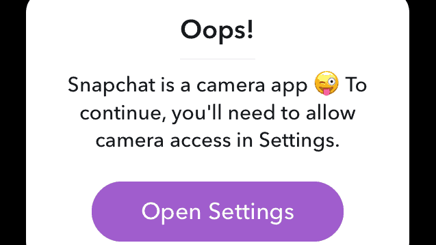why cant i find snapchat on my ipad