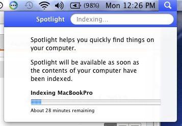 Spotlight index