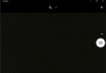 Desktop camera not working