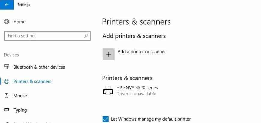how to fix printer driver is unavailable on windows 10 techzillo