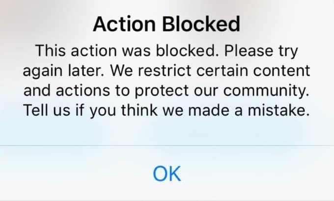 a3d40048 How to Fix Action Blocked on Instagram - Techzillo