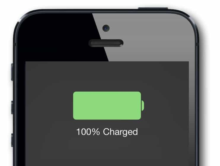 Charge iPhone to 100% to stop it dying early