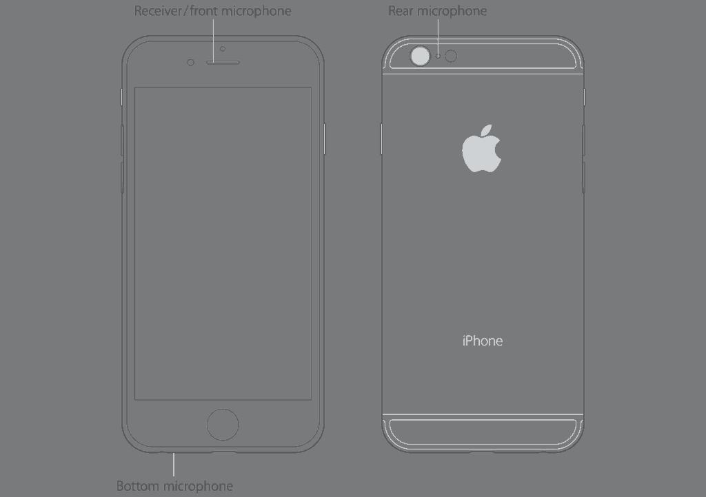 Different iPhone mics
