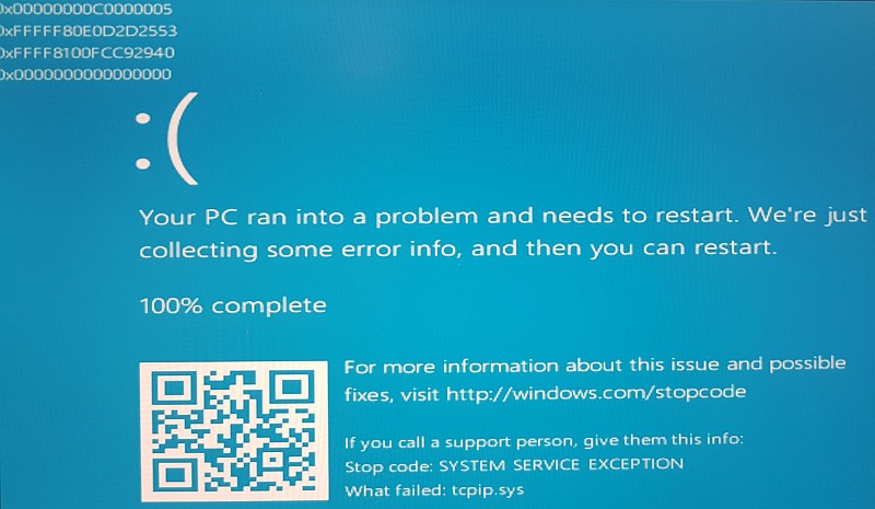 How to Fix tcpip.sys Blue Screen of Death on Windows - Techzillo