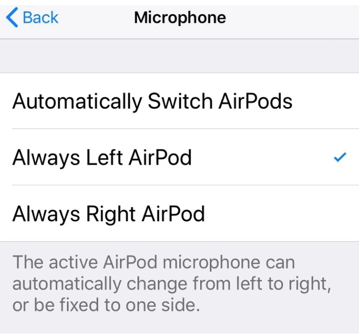 Always Left Airpod or Always Right Airpod